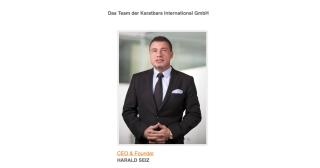 HARALD SEIZ, CEO & Founder Karatbars International GmbH