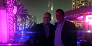 Yusef Ahmed und Dr. Stephan Welk in Dubai